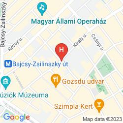 Mapa PAPRIKA APARTMAN