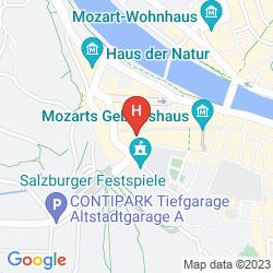 Mapa GOLDENER HIRSCH, A LUXURY COLLECTION HOTEL