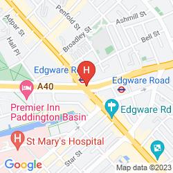 Mapa ABC HYDE PARK HOTEL
