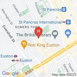 Mapa THE JUDD