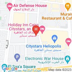 Mapa STAYBRIDGE SUITES CAIRO CITYSTARS