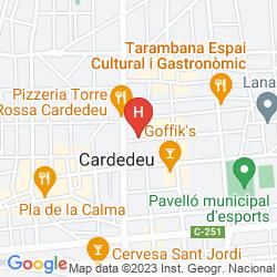 Mapa XURIN
