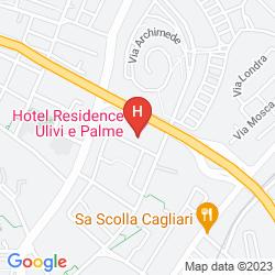 Mapa ULIVI E PALME