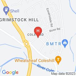 Mapa JAMES GUEST HOUSE