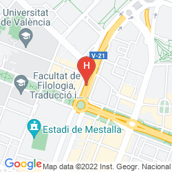 Mapa SWEET HOTEL RENASA