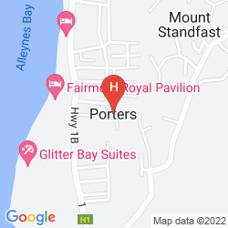 Mapa THE FAIRMONT ROYAL PAVILION BARBADOS RESORT