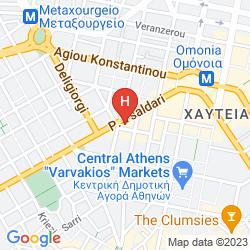Mapa CHIC ATHENS HITECH