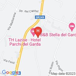 Mapa PARCHI DEL GARDA