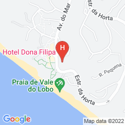 Mapa DONA FILIPA AND SAN LORENZO GOLF RESORT