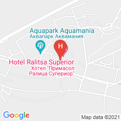 Mapa PRIMASOL RALITSA SUPERIOR HOTEL - ALL INCLUSIVE