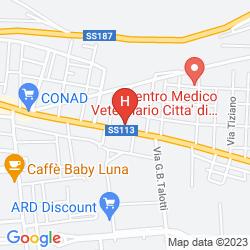 Mapa CRYSTAL HOTEL