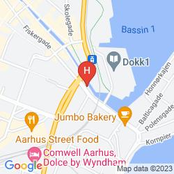 Mapa FIRST HOTEL ATLANTIC