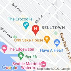 Mapa ACE HOTEL SEATTLE