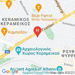 Mapa OMEGA HOTEL