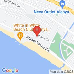 Mapa ANANAS HOTEL