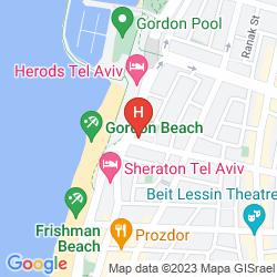 Mapa GORDON HOTEL & LOUNGE