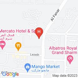 Mapa THE LA PERLA HOTEL
