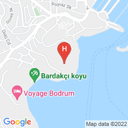 Mapa BELLA CASA HOTEL