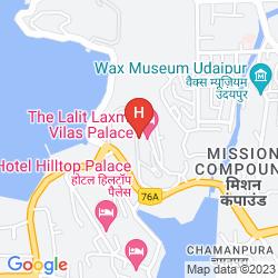 Mapa GRAND LAXMI VILAS PALACE
