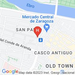 Mapa APARTAMENTOS PARIS CENTRO