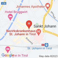 Mapa GASTHAUS POST