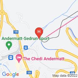 Mapa HOTEL ACTIV KRONEN