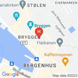 Mapa THON HOTEL ROSENKRANTZ
