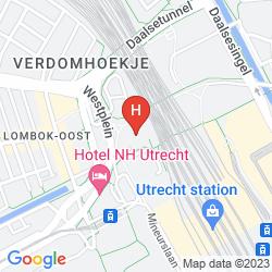 Mapa PARK PLAZA UTRECHT