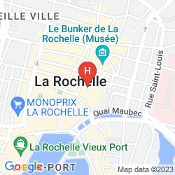 Mapa COMFORT HOTEL FRANÇOIS 1ER