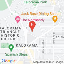 Mapa WASHINGTON HILTON