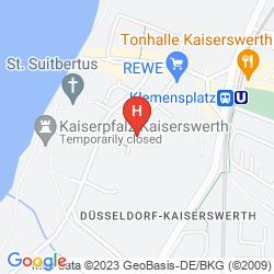 Mapa THE HOMY INN