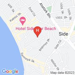 Mapa OZLEM GARDEN