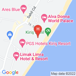 Mapa PGS KIRIS RESORT