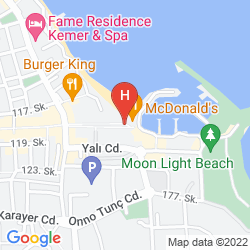 Mapa ARMA'S BEACH HOTEL