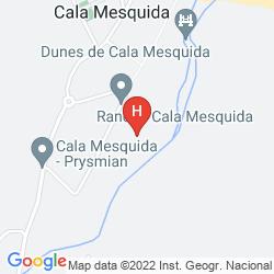 Mapa VANITY HOTEL SUITE & SPA