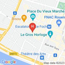Mapa DE BOURGTHEROULDE, AUTOGRAPH COLLECTION