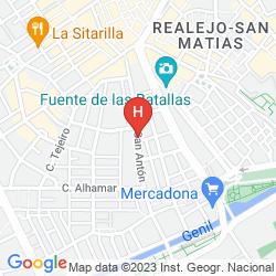 Mapa HOSTAL CONSUL