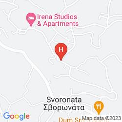 Mapa STUDIOS PARADISE