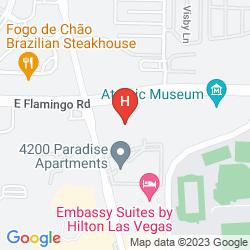 Mapa TERRIBLES HOTEL AND CASINO