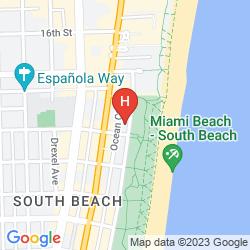 Mapa MARRIOTT VACATION CLUB PULSE, SOUTH BEACH