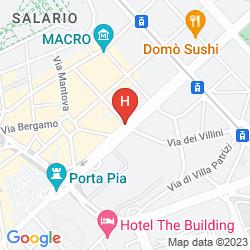 Mapa B&B HOME 77