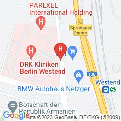 Mapa QUEENS PARK HOTEL