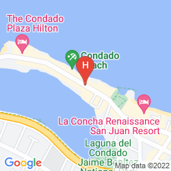 Mapa THE CONDADO PLAZA HILTON