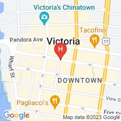 Mapa BEST WESTERN CARLTON PLAZA