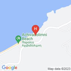 Mapa SAPFO APARTMENTS