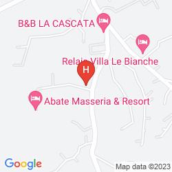 Mapa ABATE MASSERIA & RESORT