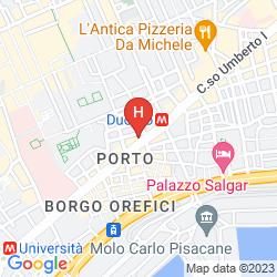 Mapa RESIDENZA NICOLA AMORE