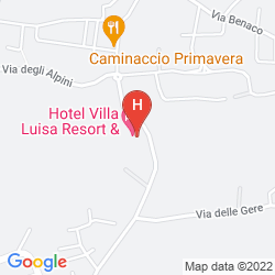 Mapa VILLA LUISA RESORT & SPA