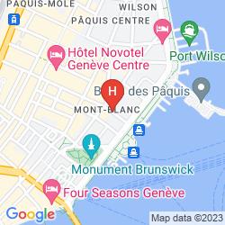 Mapa HOTEL DES ALPES