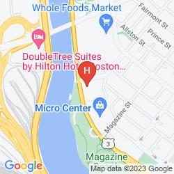Mapa COURTYARD BOSTON CAMBRIDGE